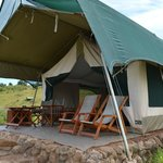 Our tent (Tembo)