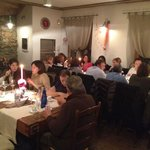 main dining room with Bella Gente guests.