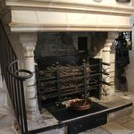 The rotisserie in the kitchen
