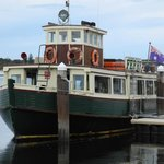 old-time ferry (from Nelson Bay to Tea Garden)