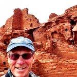 Three stories... recalls ancient Roman ruins — Wupatki National Monument