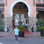 Entrada principal Sofitel Marrakech