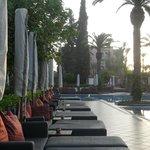 Sofitel Marrakech área de piscina
