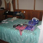 Spare bed, daily staging area