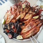 Delicious Seafood platter.....
