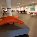 The lobby/lounge