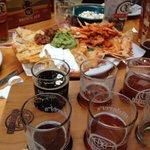 Nachos and Beer Sampler