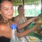 Zacambu Natural Reserve Lodge dinner