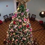 28 foot Christmas tree.  Breathtakingly beautiful!