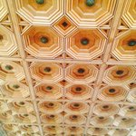 Make sure you look up and check out the incredible ceiling and light fixtures. Building was form