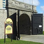 The doors to the south end of the Railway Tunnel are opened during the visitor season.