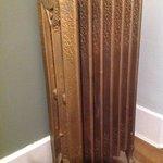 Noisy , yet gorgeous radiator