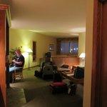 V-shaped room