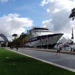 Circular Quay - Opera House, Harbour Bridge, passenger ships