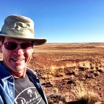 Homolovi State Park Indian Ruins & Terry Hunefeld
