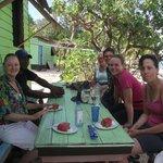 Island tea house