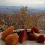 Breakfast in Mohonk .....
