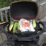 Grilling on deck