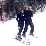 My husband and I in the Sipapu slopes! Great time!
