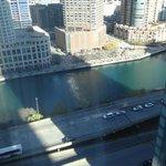 Chicago River below