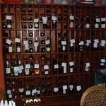 an extensive wine list