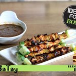 Bossatay trully XXL gril chicken satay