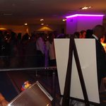 Drinks reception at the Wyndham Grand