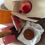 Yummy purchases from sweet walking tour