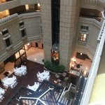 The Atrium within the hotel core.. function facilities on 3rd level