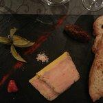 entrée : foie gras maison