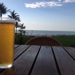 sunset bar and beer