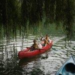 en canoë sur le Tarn