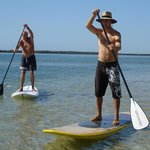 Anyone can try paddleboarding and gain the higher perspective
