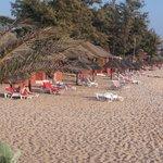 plages et bungalows pied dans l'eau