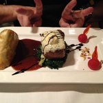 Magnifique plat et viande succulente