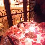 La mejor mesa para una pareja!!!!!