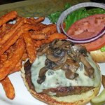 A Decent Burger and Great Sweet Potato Fries