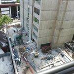 Edificio en contruccion desde visto desde nuestra ventana.