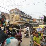 market around jama masjid