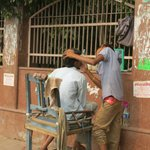 street barbers