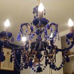 Our room's chandelier