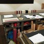 Peter Larsen's studio