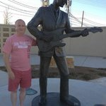 Buddy Holly Statue