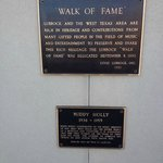 Plaques at the Holly Statue, Lubbock