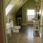 spacious bath -3rd floor suite
