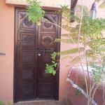 porte de la chambre Ophélia