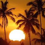 Sonnenuntergang auf Zansibar