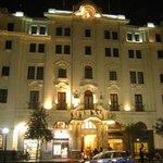 Vista do Hotel a noite