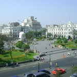 Vista da Praça de San Martín.