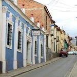 fachada e Calle Chuvisaca